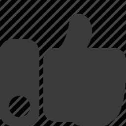 apreciate, apreciation, like, social, thumb, thumb up icon