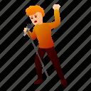 hair, music, red, singer, man