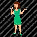 dress, flower, green, music, singer, woman