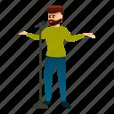 bearded, man, music, person, singer, star