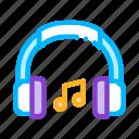 headphones, music, musical, notes