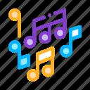 melody, mono, music, notes, treble