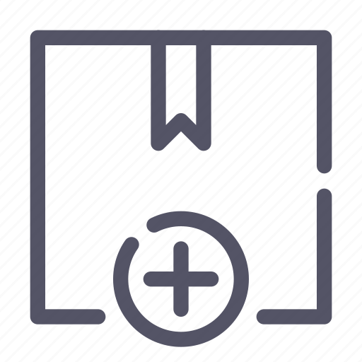 box, new, package, product icon