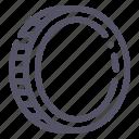 cash, coin icon