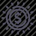 002a, cash, coin, dollar, money icon