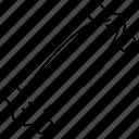 longboard, slalom icon