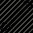 longboard, speedboard icon