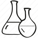 chemistry, lab, laboratory, research icon icon
