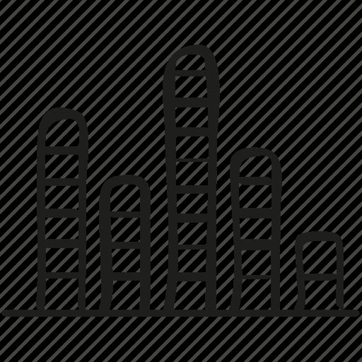 audio, bars, equalizer icon, indicator, volume icon