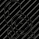 detective, eavesdrop, spy icon icon