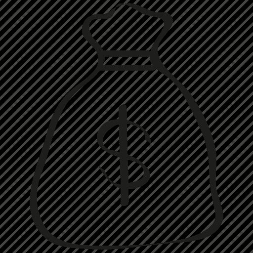 bag, money icon icon