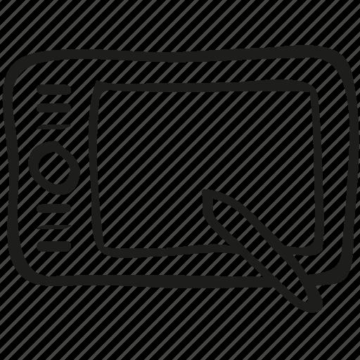 pen, tablet icon icon