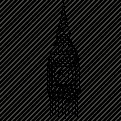 big ben, britain, british, clock, england, london, tower icon