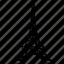 eiffel, france, french, landmark, paris, romance, tower