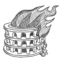 burn, nero icon