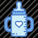 baby, bottle, drink, kid, milk