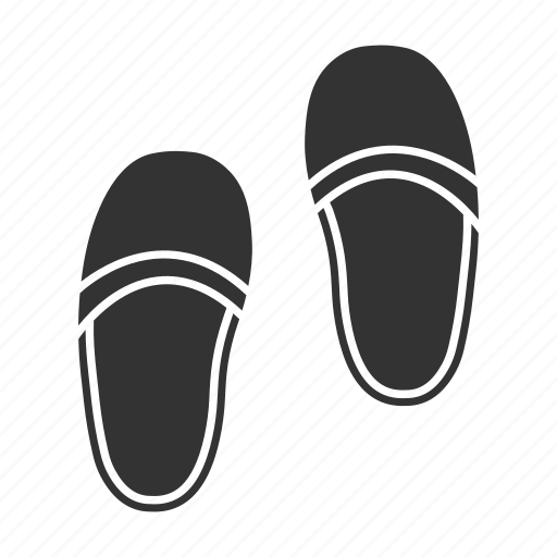 accessory, flip-flops, footwear, home, shoes, slippers, slipshoes icon