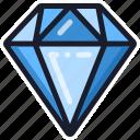 casino, diamond, slot machine icon