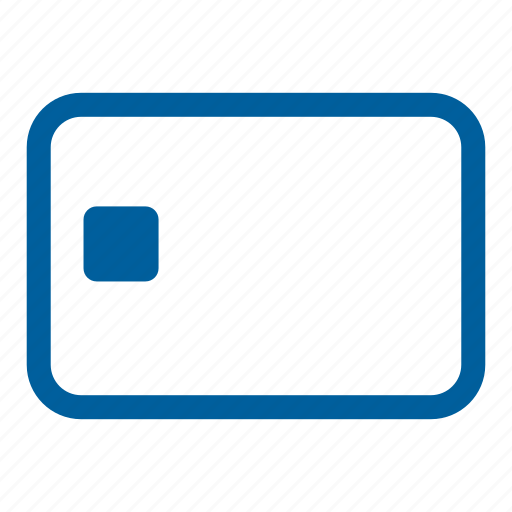 card, chip card, credit card, debit, emv, pay, payment icon