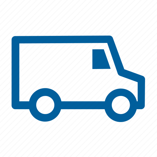 delivery, shipping, truck, van icon