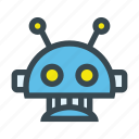 cyborg, futuristic, intelligence, machine, robot, robotic, technology