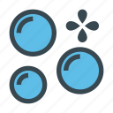 bubble, bubbles, exploding, soap icon