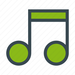 music, notes, quaver, songs, sound icon