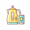kitchen tool, appliance, kettle, wireless