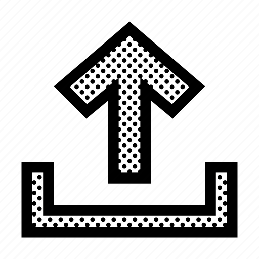 Arrow, export, guardar, load, storage, up, upload icon - Download on Iconfinder