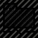 archive, disconnected, document, folder, offline, portfolio icon