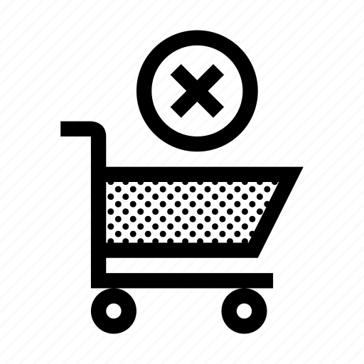 buy, cart, delete, ecommerce, erase, shopping, store icon