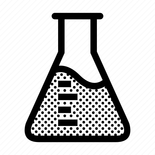 chemical, experiment, flask, liquid, science icon
