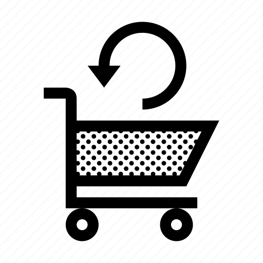 buy, cart, ecommerce, reload, shopping, store, update icon