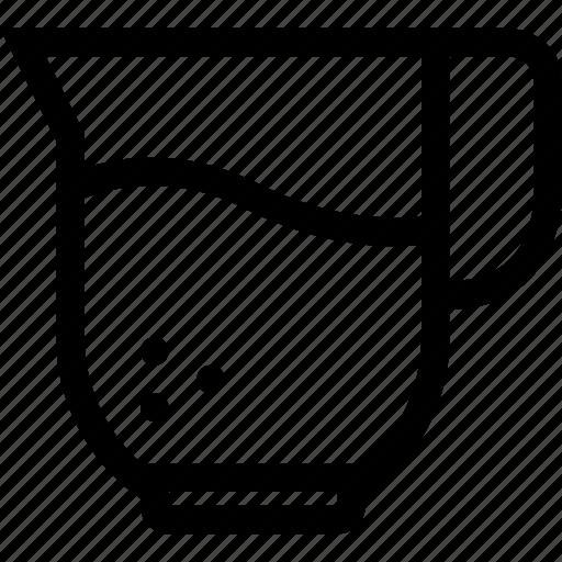 jar, liquid, milk, pitcher, water icon