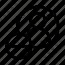 avatar, delete, minus, remove, user