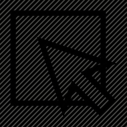 development, element, inspector, select, web icon