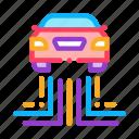 autopilot, car, electronic, help, satellite, smart, technology