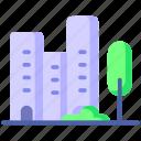 building, construction, office, smart city