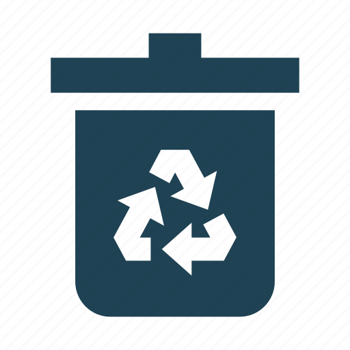 Bin, garbage, recycling, recycling – waste – garbage – trash – bin - rubbish, rubbish, trash, waste icon - Download on Iconfinder