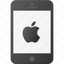 apple, iphone, mobile, phone, smart, smartphone icon