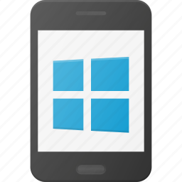 mobile, phone, smart, smartphone, windows icon