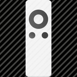 apple, control, controler, remote, tv icon