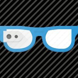 gadget, glasses, google, smart, technology icon