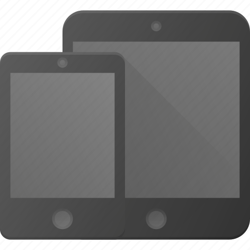 devices, mobile, phone, responsive, smart, smartphone, tablet icon