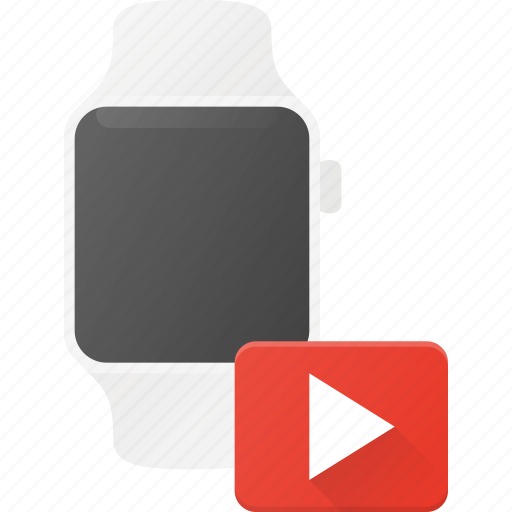 concept, media, player, smart, smartwatch, technology, watch icon