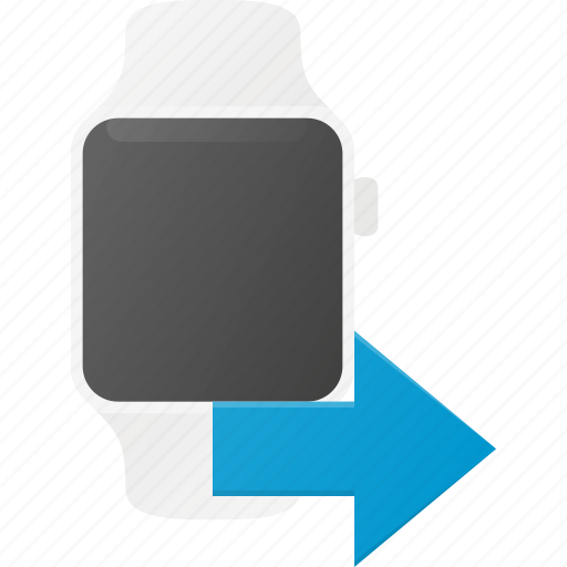 concept, send, smart, smartwatch, technology, watch icon
