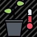 farm, farmer, garden, pot, smart, temperature, thermometer icon