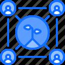 farm, farmer, garden, network, people, smart icon