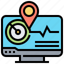 analysis, chart, computer, graph, monitoring
