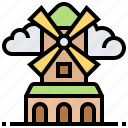 energy, farm, generator, turbine, windmill